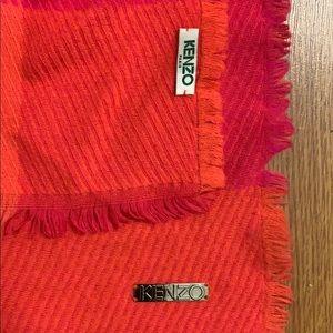 Kenzo oversized scarf